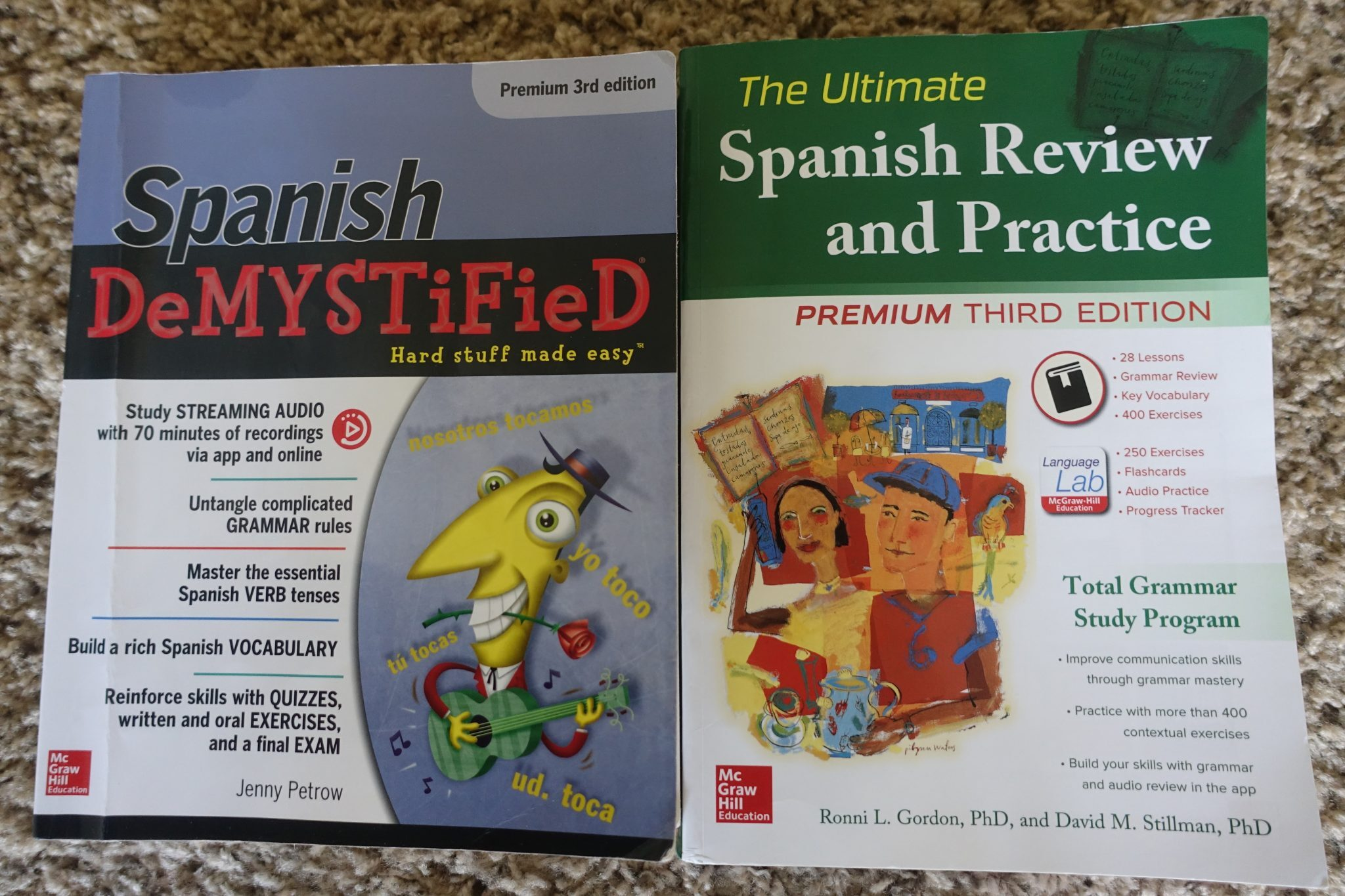 Two Spanish Grammar Books You should Give a Try • ConvoSpanish